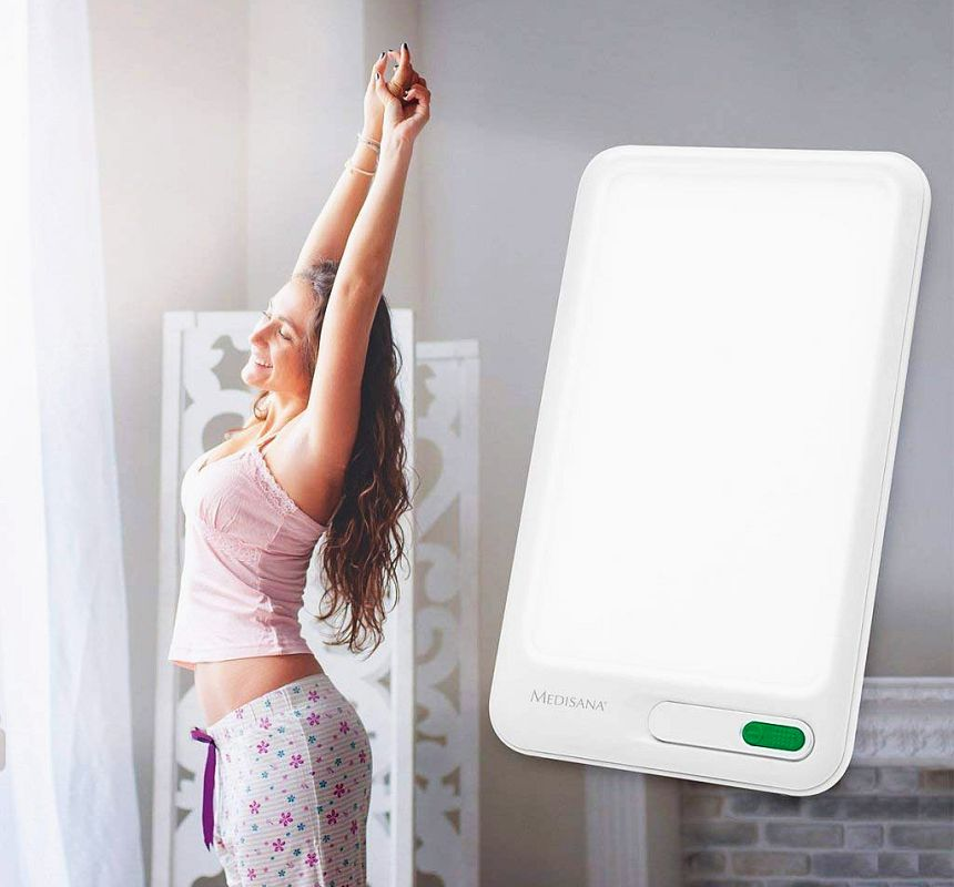 Salute e buonumore anche in inverno grazie alla lampada per fototerapia MEDISANA LT-460