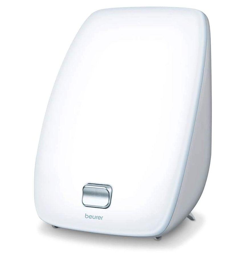 Lampada di luce naturale del giorno BEURER TL 41 per fototerapia efficace a casa, con tecnologia a LED e ampia area di illuminazione di 27 x 20 cm a 10.000 lux