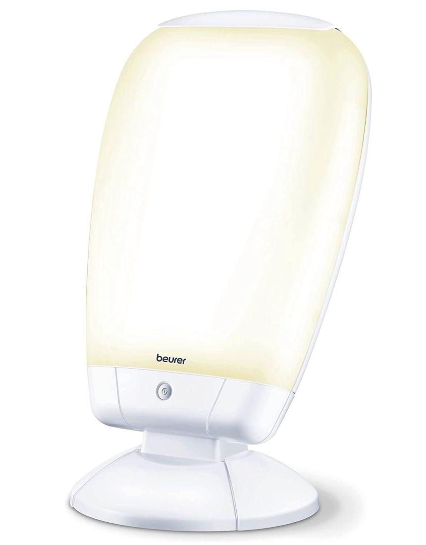 Lampada di luce naturale del giorno da tavolo BEURER TL 80, con ampia superficie di illuminazione di 39 x 32 cm, per fototerapia contro i disturbi da carenza di luce