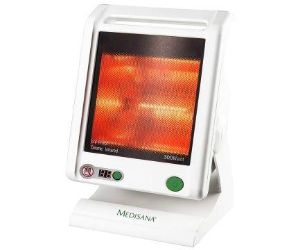 Radiatore termico a infrarossi per terapia del calore MEDISANA IR 885 da 300W con ampio schermo e durata del trattamento personalizzabile