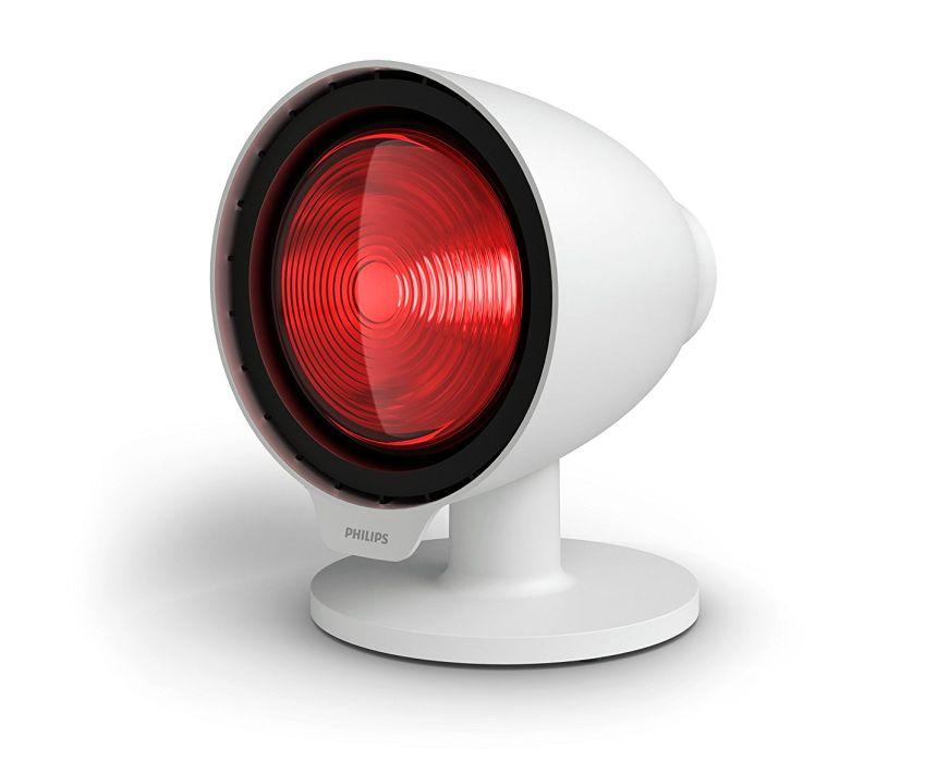 Lampada a infrarossi per terapia del calore PHILIPS InfraCare PR3110/00 da 150W ad azione profonda, con timer