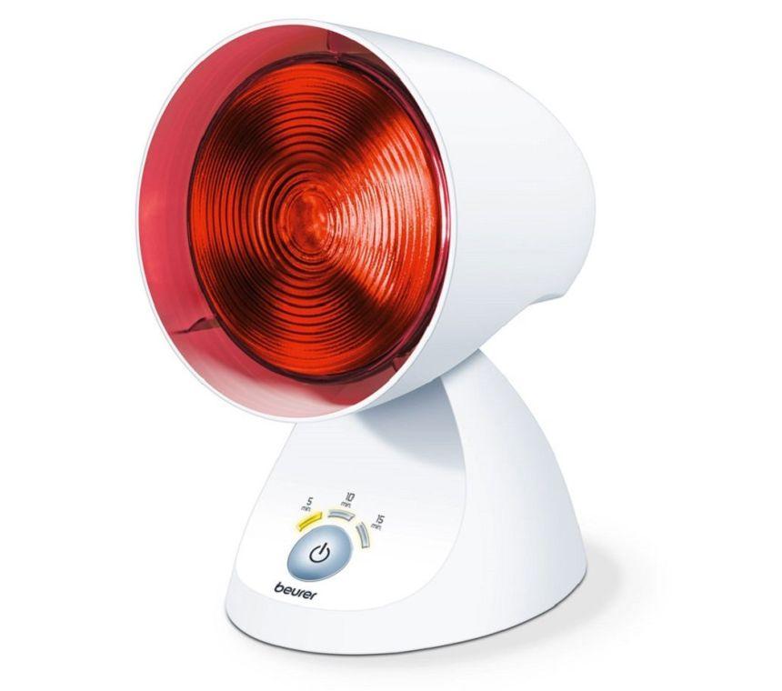 Lampada a infrarossi per terapia del calore BEURER IL 35 da 150W con timer elettronico