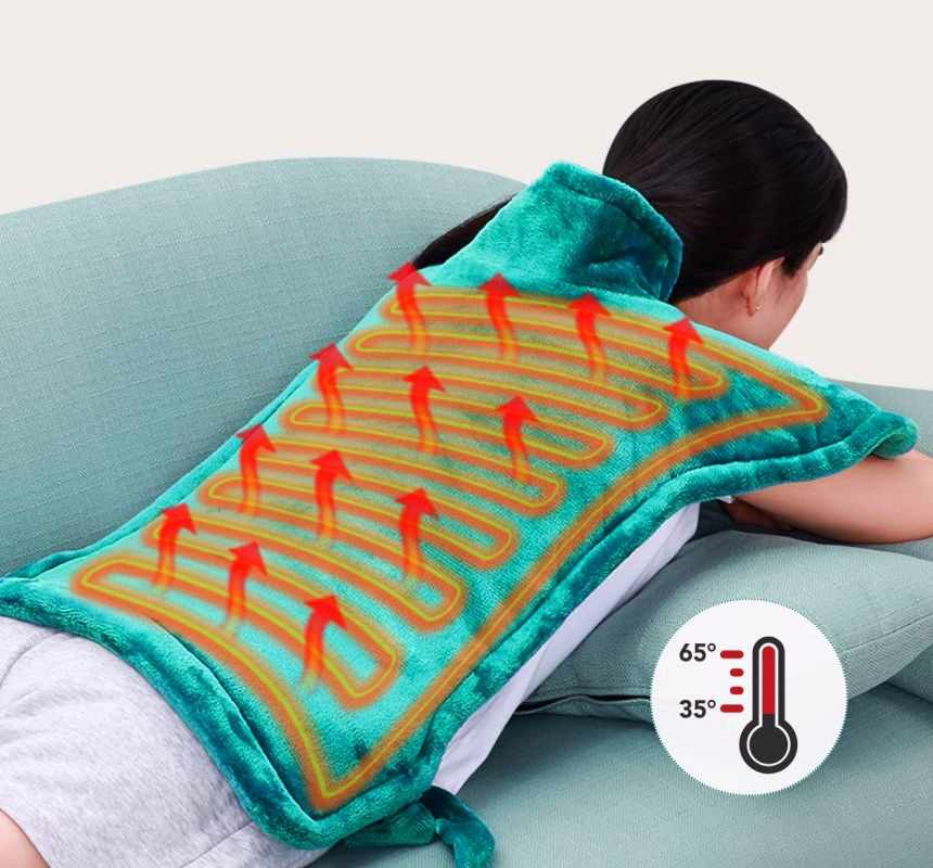 I migliori cuscini termici a riscaldamento rapido per schiena, collo e spalle, aiuta a combattere la cervicale ed alleviare il dolore