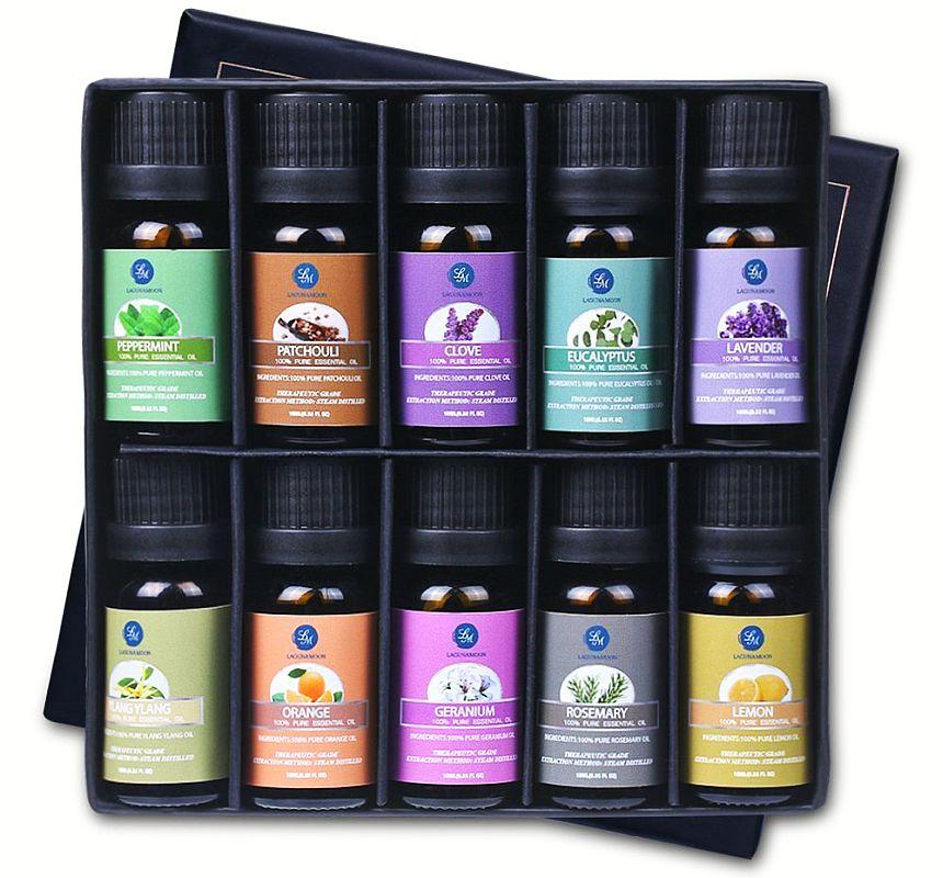 I migliori oli essenziali puri e naturali per diffusori di aroma, aromaterapia per massaggi a casa e in ufficio